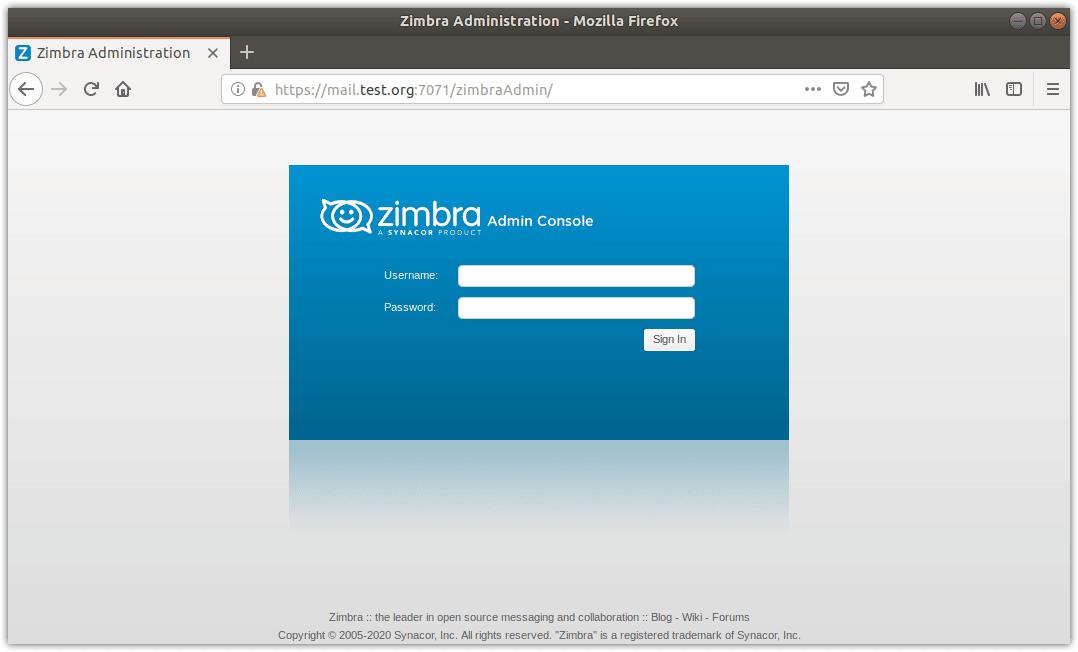 Install Zimbra on Ubuntu