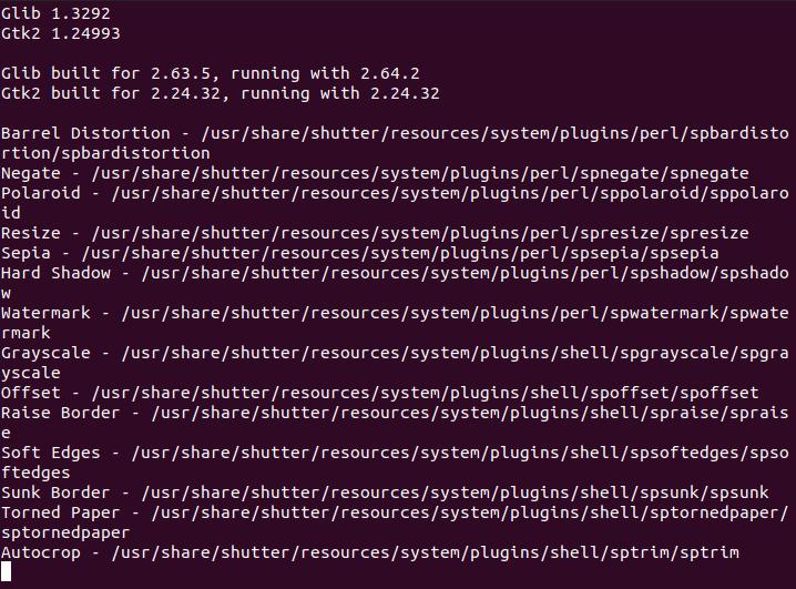 shutter screenshot tool ubuntu