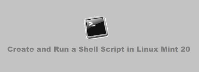 Create and Run a Shell Script in Linux Mint 20