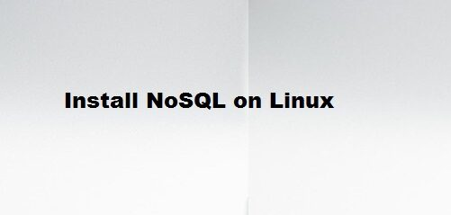 Install NoSQL in Linux