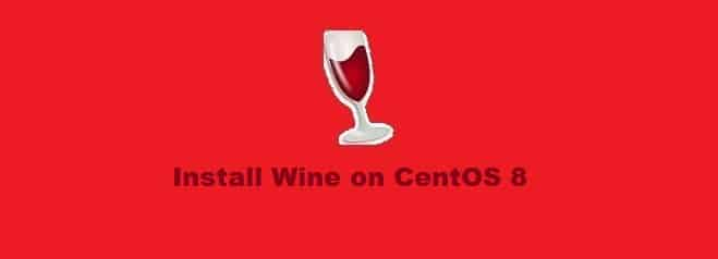 Install Wine on CentOS 8