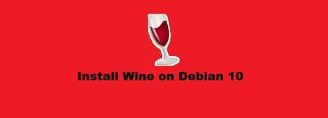 Install Wine on Debian 10