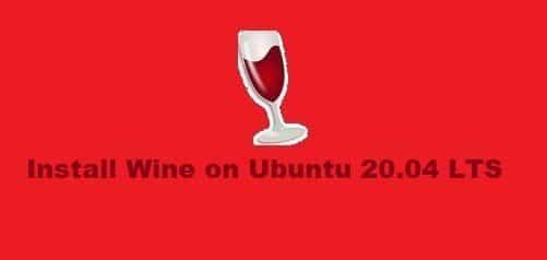 Install Wine on Ubuntu 20.04