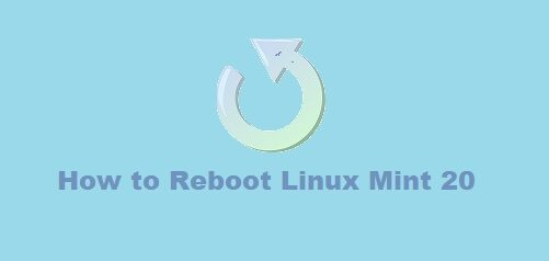 Reboot Linux Mint 20