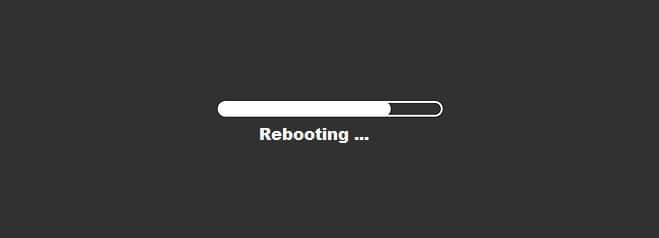 Rebooting Ubuntu 20.04