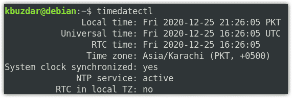 date, time and timezone