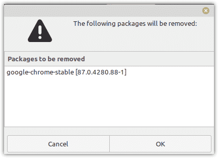 Removing Google Chrome