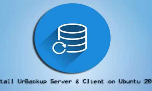 How to Install UrBackup Server and Client on Ubuntu 20.04