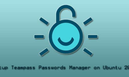Setup Teampass Passwords Manager on Ubuntu 20.04