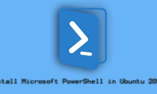 Install Microsoft PowerShell on Ubuntu 20.04