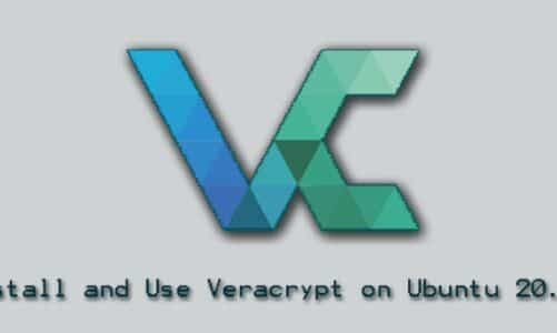 Install and Use Veracrypt on Ubuntu 20.04