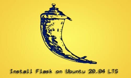Install Flask on Ubuntu 20.04