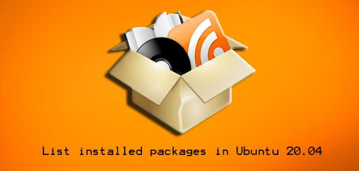 List Installed Packages in Ubuntu 20.04