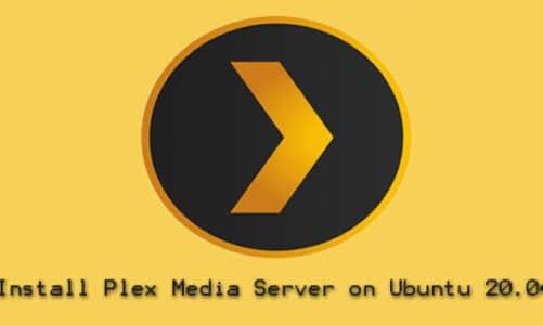 Install Plex Media Server on Ubuntu 20.04