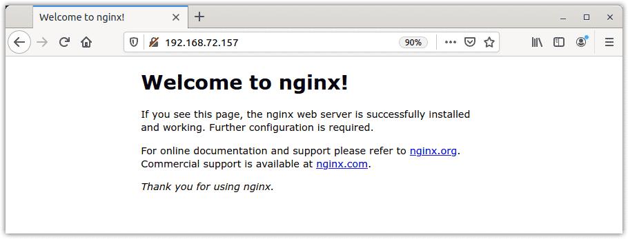 Testing Nginx