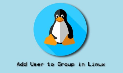 Add User to Group in Linux