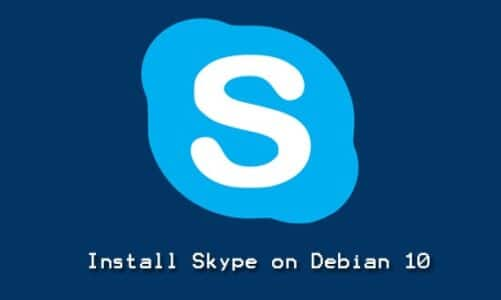 How to Install Skype on Debian 10