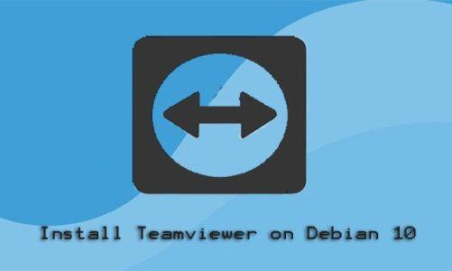 Install TeamViewer on Debian 10
