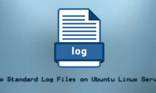 View Standard Log Files on Ubuntu Servers