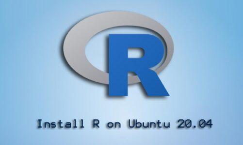 Install R on Ubuntu 20.04