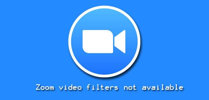Zoom Video Filters Not Available in Linux