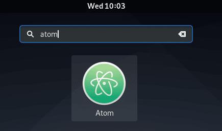 launch Atom
