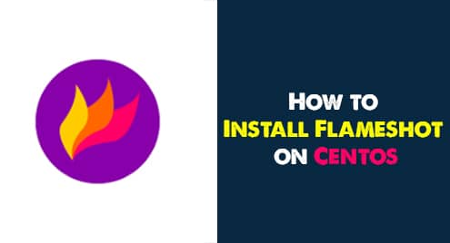 How to install Flameshot on CentOS 8