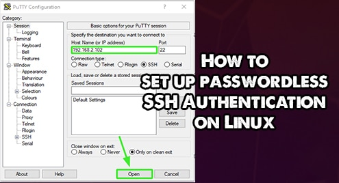 How to set up passwordless SSH Authentication on Linux