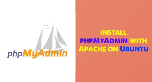 Install phpMyAdmin with Apache on Ubuntu