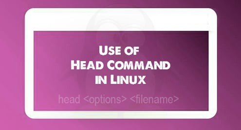 Use of Head Command in Linux
