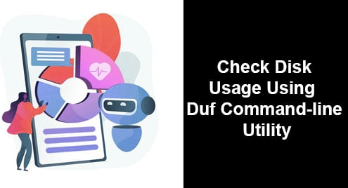 Check Disk Usage Using Duf Command-line Utility