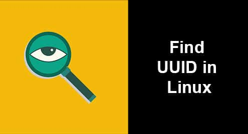 Find UUID in Linux