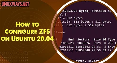 How to Configure ZFS on Ubuntu 20.04