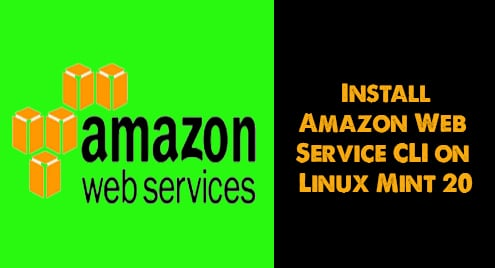 Install Amazon Web Service CLI on Linux Mint 20