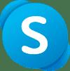 Logo of Skype (2019–present)