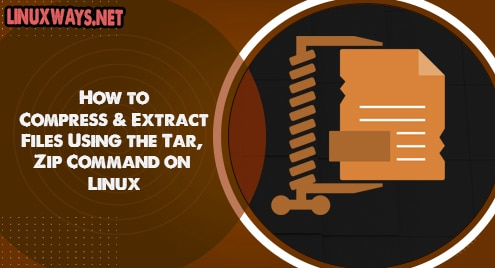 How to Compress and Extract Files Using the Tar