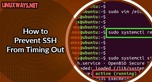 How to Prevent SSH From Timing Out