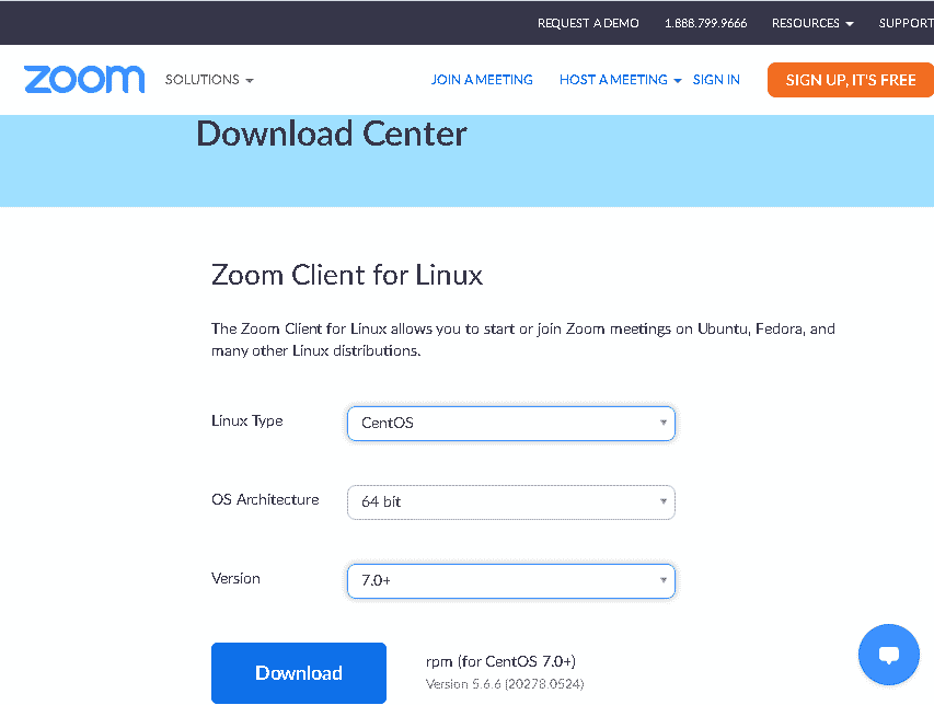 Downloading Zoom