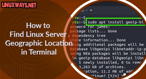 How to Find Linux Server Geographic Location in Terminal