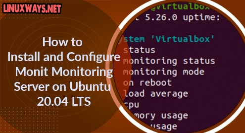 How to Install and Configure Monit Monitoring Server on Ubuntu 20.04 LTS