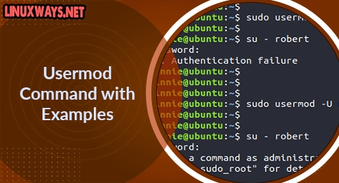 Usermod Command with Examples