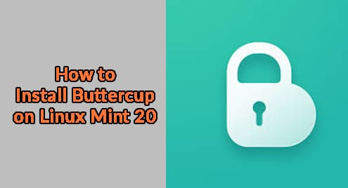 How to Install Buttercup on Linux Mint 20