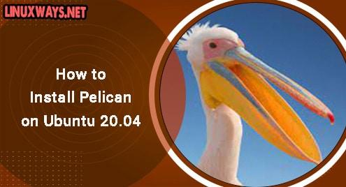 How to Install Pelican on Ubuntu 20.04