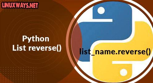 Python List reverse()