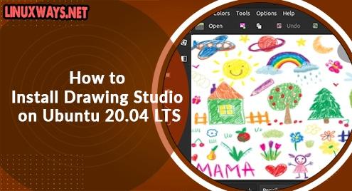 How to Install Drawing Studio on Ubuntu 20.04 LTS
